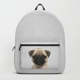 Pug Puppy - Colorful Backpack