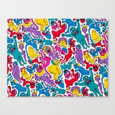 It Bares Repeating Canvas Print