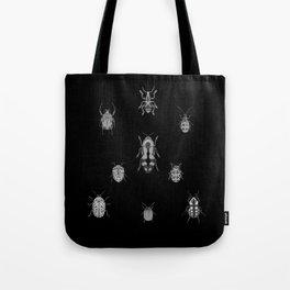 Beautiful Bugs Black Tote Bag