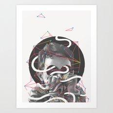 Outta Sight Art Print