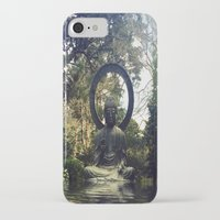 buddah iPhone & iPod Cases featuring buddah by xtinawicki