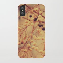 Autumn Life (II) iPhone Case