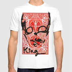 King MEDIUM Mens Fitted Tee White