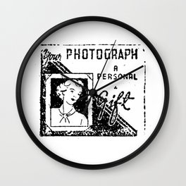 photograph a personal gift Wall Clock