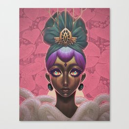 Circlet Canvas Print