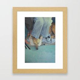 Guillotine Framed Art Print