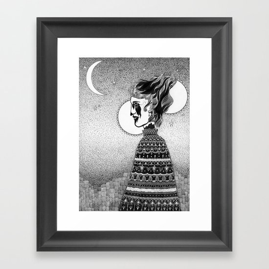 Widow Walk Framed Art Print