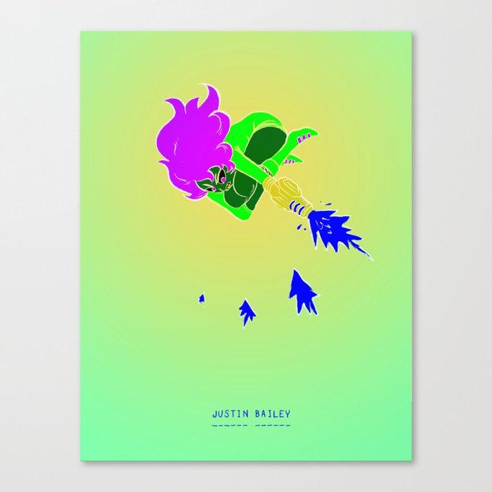 Justin Bailey  Canvas Print