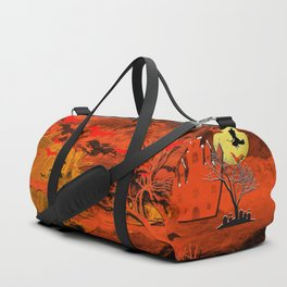 Halloween Story Motif Duffle Bag
