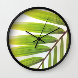 Jungle Abstract Wall Clock