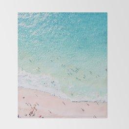 Beach Sunday Throw Blanket