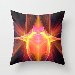 Star Rider Throw Pillow