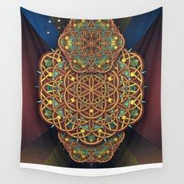 FLOMANDALA TWO Wall Tapestry