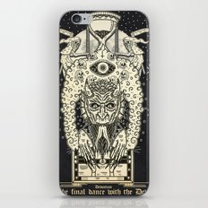 The Final Dance With The Devil iPhone & iPod Skin