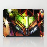 samus iPad Cases featuring Samus by Vincent Vernacatola