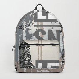 Snowfall - let it snow Backpack