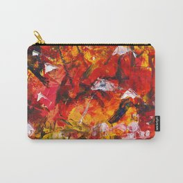 Abstract in warm colors Carry-All Pouch
