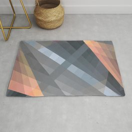 Abstract Geometric Shape 08 Rug