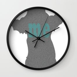 bear me Wall Clock