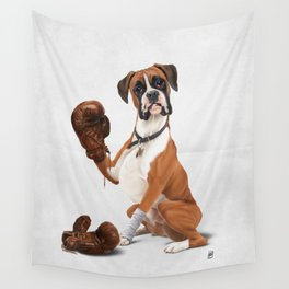 The Boxer (Wordless) Wall Tapestry