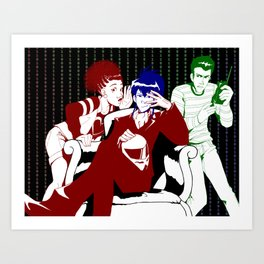 The Psions Illustration Art Print