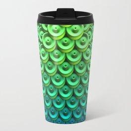 Button Pyramid Travel Mug