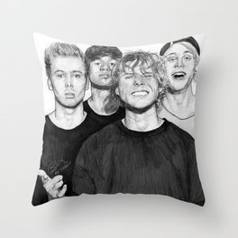 Wrapped Around Your Finger Throw Pillow