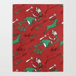 Santa Express Poster