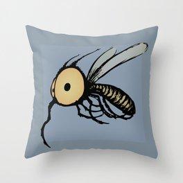 Paquito Mosquito Throw Pillow