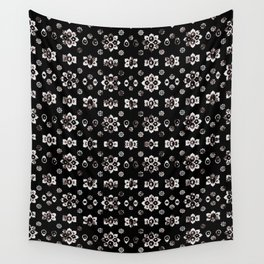 Dark Luxury Baroque Pattern Wall Tapestry