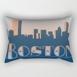 Boston Sunset Rectangular Pillow