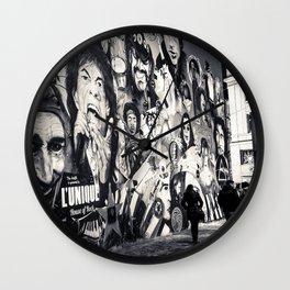 Rock n Roll Streets Wall Clock