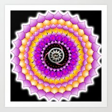 Resonating Reality Art Print