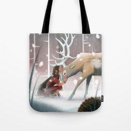 Soft winter Tote Bag