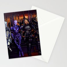 Mass Effect - Team of Awesomness Stationery Cards