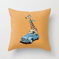 Riding High! (Colour) Throw Pillow