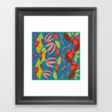 African Waterfall Framed Art Print