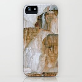 Yellowstone National Park Mammoth Hot Springs iPhone Case