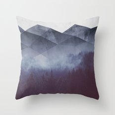 Winter Glory Throw Pillow