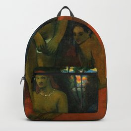 """Paul Gauguin """"Te Pape Nave Nave (Delectable Waters)"""" Backpack"""