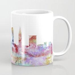 Cleveland City Skyline Coffee Mug