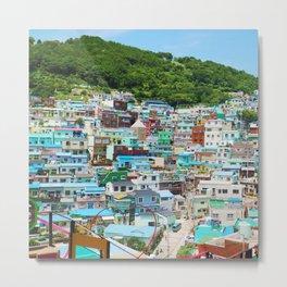 Korea Busan Metal Print