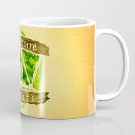 D20 Adventure Awaits Watercolor Nature's Path Coffee Mug