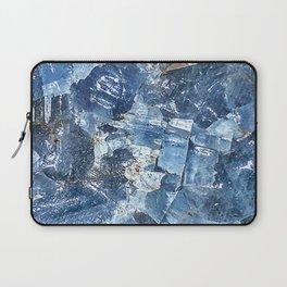 Blue Calcite Laptop Sleeve