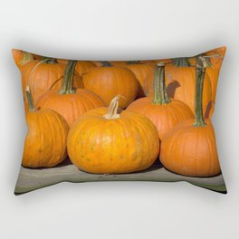 More Pumpkins Rectangular Pillow
