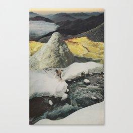 SNOW CAP SPRINGS Canvas Print