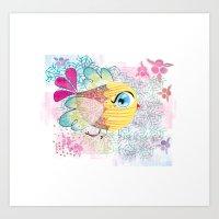 kus-bird Art Print