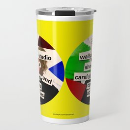 The Walls Of A Studio Travel Mug