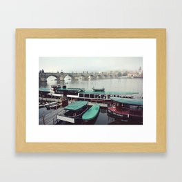 Charles Bridge, Prague Framed Art Print