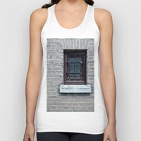 window Tank Tops featuring Window by Marieken